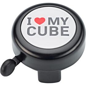 Cube I love my Cube Ringeklokke, black'n'white'n'red